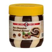 《美味大師》亞美樂巧克力榛果雙色醬(350g)