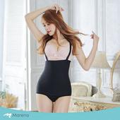 《MARENA》強效完美塑形系列 腹部加強美體比基尼式塑身衣(黑色 XXS)