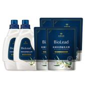 《台塑生醫BioLead》抗敏原濃縮洗衣精(2瓶+4包)