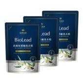 《台塑生醫BioLead》抗敏原濃縮洗衣精補充包1.8kg(3包入)
