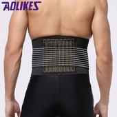《AOLIKES》運動透氣支撐護腰(L)