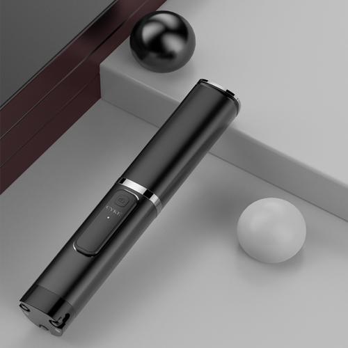 《Hong Jin 宏晉》攜帶式隨身藍牙自拍棒 31.5x198mm(黑色)