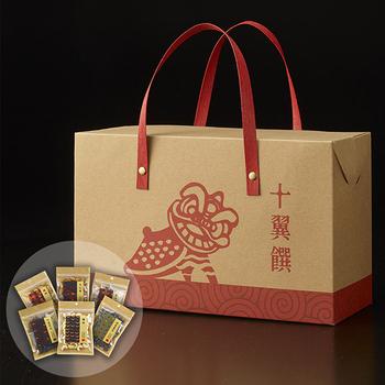 《十翼饌》舞動元氣健康堅果好禮(堅果禮盒/零食禮盒)(一盒)