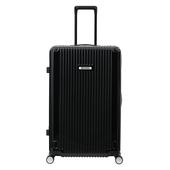 《CENTURION 百夫長》超級百夫長系列-20吋拉鍊款行李箱(拉瓜地亞黑U_S_LGA_20)