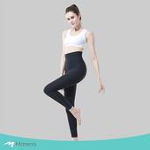 《MARENA》日常塑身運動系列 輕塑高腰九分塑身褲(黑色 XS)