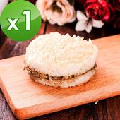 《樂活e棧》素沙茶鮮菇米漢堡(6顆/袋)-全素(1袋)