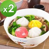 《樂活e棧》水晶餃任選(10顆/包)-奶素(2包)