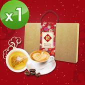 《預購-KOOS》春節伴手禮盒-典藏好茶組(咖啡豆+茶包)(共1盒)