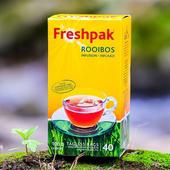 《Freshpak》南非國寶茶(博士茶) RooibosTea 茶包-新包裝(40入*3盒/組)