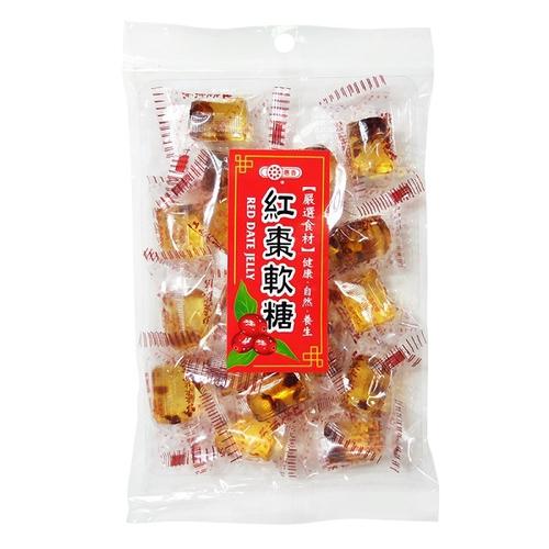 《惠香》紅棗軟糖(220g±4.5%/包)