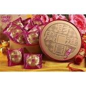 《喜之坊》財圓廣進圓片牛軋糖禮盒500g/盒 $350