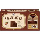《LOTTE》Charlotte夾餡生巧克力-12片(68.4g)