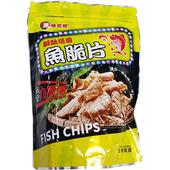 《原味巡禮》鹹酥塔香魚脆片(80g/包)