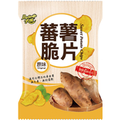 《卡滋》蕃薯脆片-原味(90g)