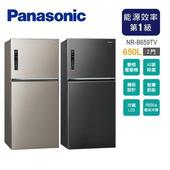 《Panasonic國際牌》650L雙門變頻環保電冰箱NR-B659TV(含拆箱定位)(A-星曜黑)