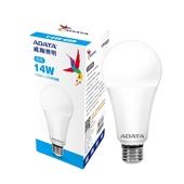 《威剛》LED 14W球泡燈白光 AL-BUA22C2-14W65C $199