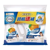 《橘子工坊》濃縮洗衣精高倍速淨組合包(2200ml+2000ml*2)