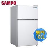 《SAMPO 聲寶》100公升雙門冰箱SR-A11G(含拆箱定位)