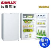 《SANLUX 台灣三洋》97公升單門電冰箱SR-C97A1