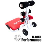 《X-BIKE 晨昌》美腹機 美體塑型、有氧、美背、塑腰、瘦腹、伸展、紓壓多效合一 台灣精品 10800(紅色)