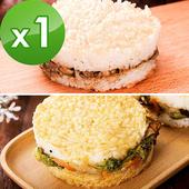 綜合米漢堡(6顆/袋)-全素