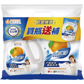 《橘子工坊》濃縮洗衣精高倍速淨組合包2200ml+2000ml $279