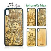 《Artiger》iPhone原木雕刻手機殼-神明系列1(iPhoneXs Max)(媽祖)