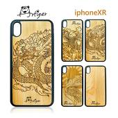 《Artiger》iPhone原木雕刻手機殼-神話系列(iPhoneXR)(鶴)