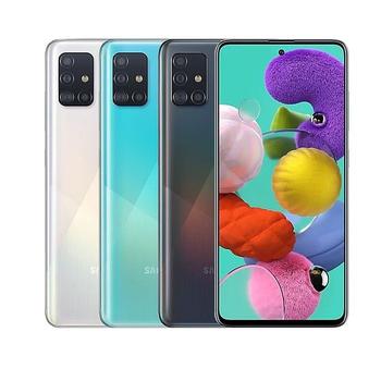 《SAMSUNG》Galaxy A51 6.5吋 時尚美型L四鏡頭(晶礦黑)
