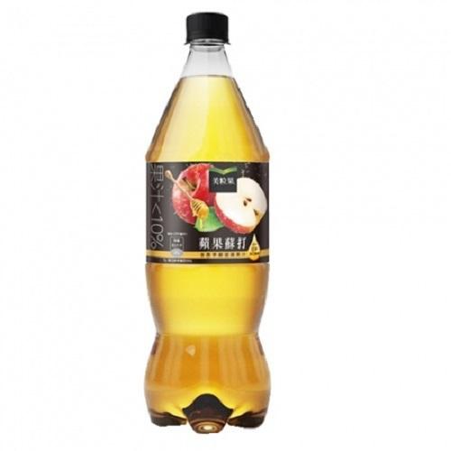 《美粒果》蘋果蘇打(1250ml 瓶)