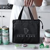 《佶之屋》420D可愛風牛津布保溫保冷袋-基本加寬款(仙人掌)