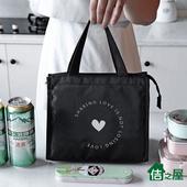 《佶之屋》420D可愛風牛津布保溫保冷袋-基本加寬款(愛心)