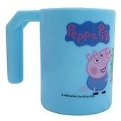 《佩佩豬》PP牙刷杯(藍 280cc)