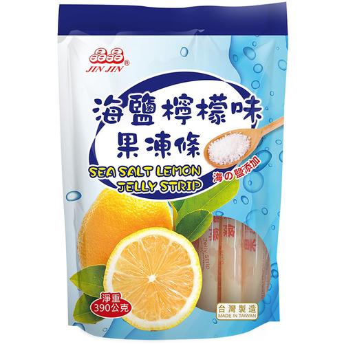 《晶晶》海鹽檸檬味果凍條(390g/包)