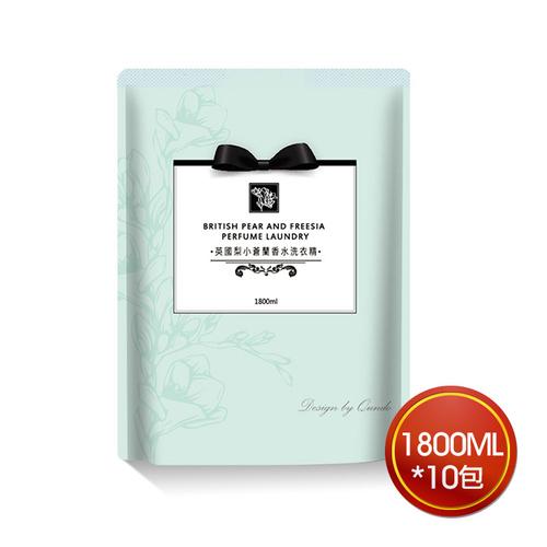 《康朵》小蒼蘭洗衣精補充包(1800ml*10包)