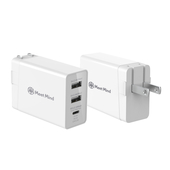 《Meet Mind》PD+QC3.0 快速電源供應器 充電器 三接孔輸出 Type-C USB(IBC002)