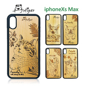 《Artiger》iPhone原木雕刻手機殼-家寵系列(iPhoneXs Max)(柯基)