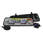 《CARSCAM行車王》GS9400 GPS測速全螢幕觸控雙1080P後視鏡行車記錄器(贈32G)