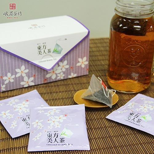 東方美人茶立體茶包(獨立包裝)(3gX16包/盒)