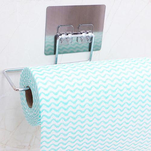免打孔不鏽鋼紙巾架(27cm)