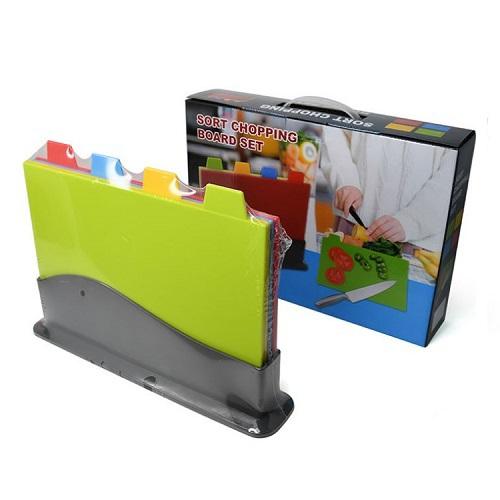 四色分類切菜板(30X20cm)