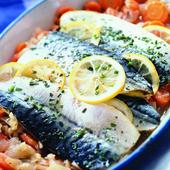 《老爸ㄟ廚房》台灣本土薄鹽鯖魚片(230g±5%/2片/包)(4包組)