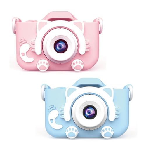 兒童造型相機 兒童相機 2000萬畫素(藍貓咪)