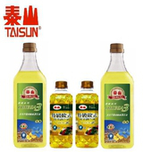 【泰山】特級歐式蔬菜油X2(500ml/瓶)+Omega3芥花油2瓶(1000ml/瓶)