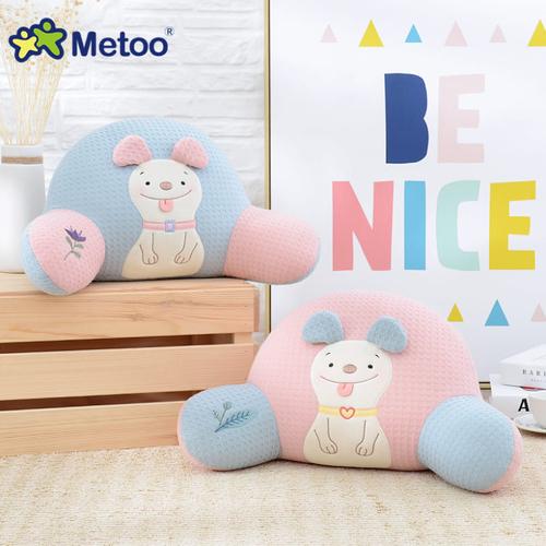《Metoo》波波狗腰枕 靠枕 午休枕 27*50*27cm(俏藕粉)
