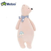 《Metoo》魔法動物長抱枕(大號)暖粉橙熊熊 $630