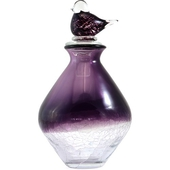《Novella Amante》手工玻璃小鳥裝飾罐(紫色-中)