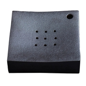 《SCENEAST》中式鐵銹壺茶盤(16*16*H4cm)