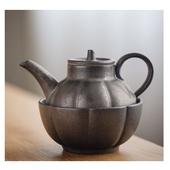 《SCENEAST》中式茶壺銅銹古銅快客杯一壺一杯