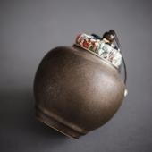 《SCENEAST》中式銅銹茶葉罐